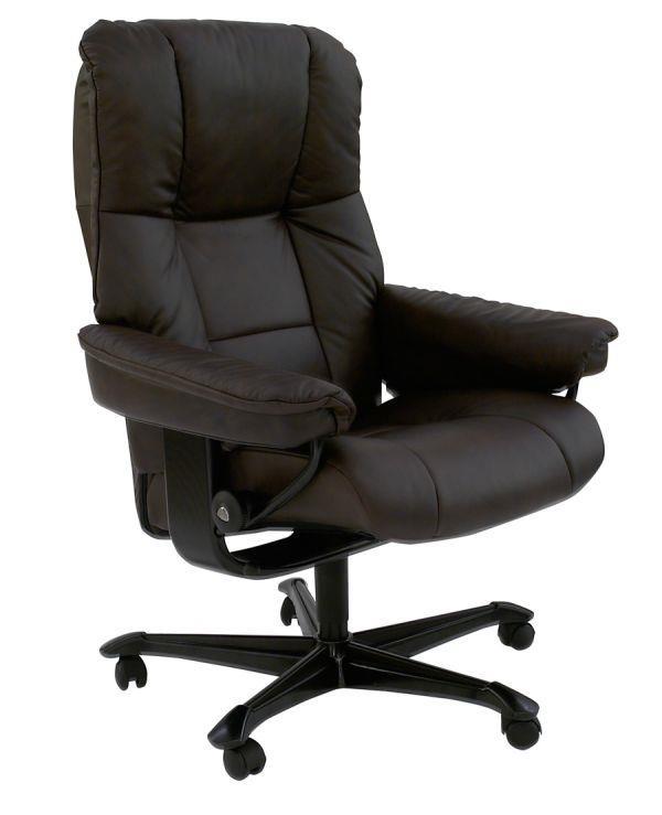 Stressless by Ekornes Mayfair Medium Stressless Office Chair - Item Number: Mayfair