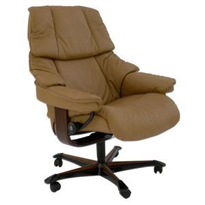 Stressless by Ekornes Reno Medium Stressless Office Chair