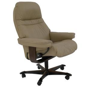 Stressless by Ekornes Sunrise Medium Stressless Office Chair
