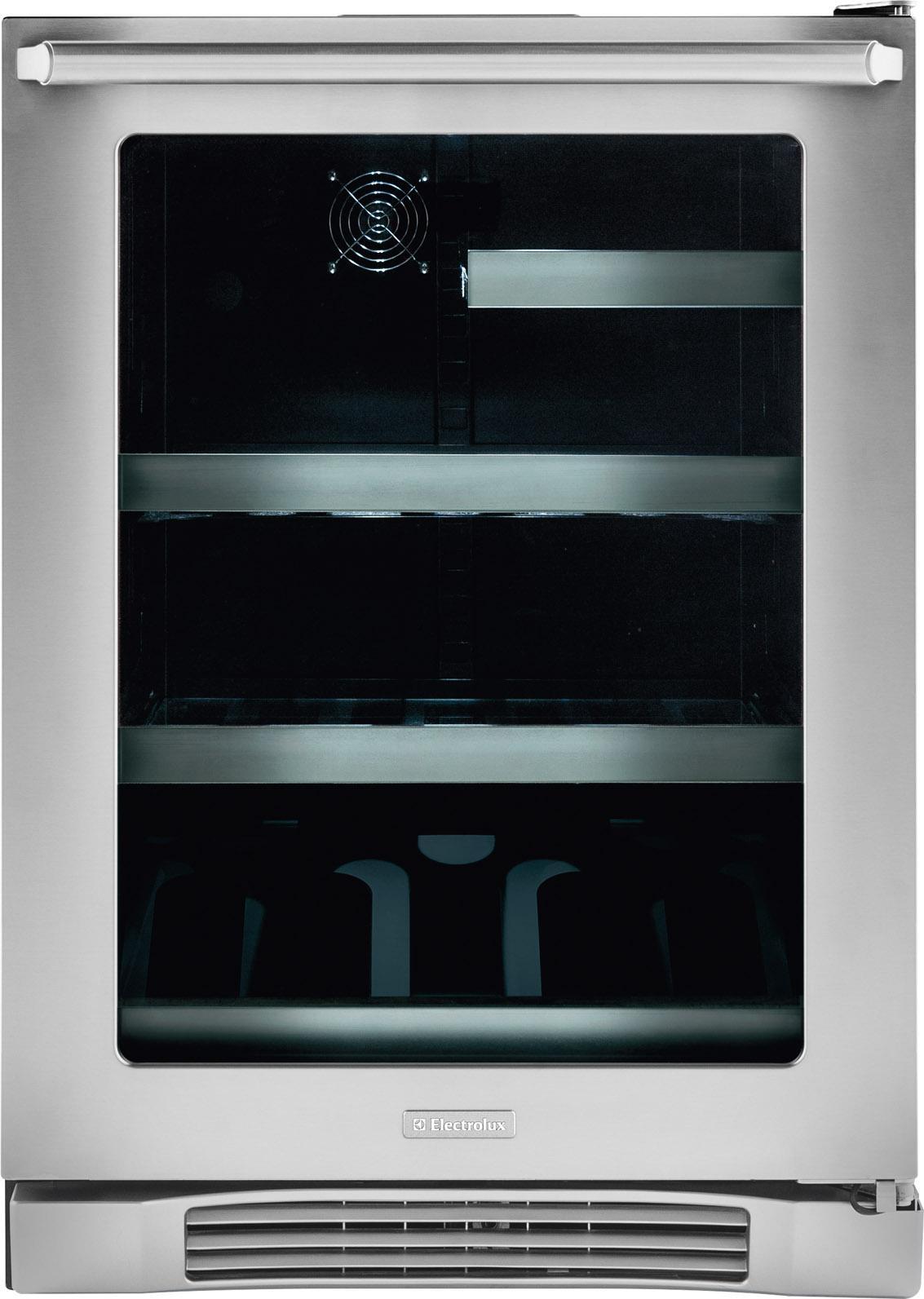 "Electrolux Beverage Coolers 24"" Under Counter Beverage Center - Item Number: EI24BC10QS"