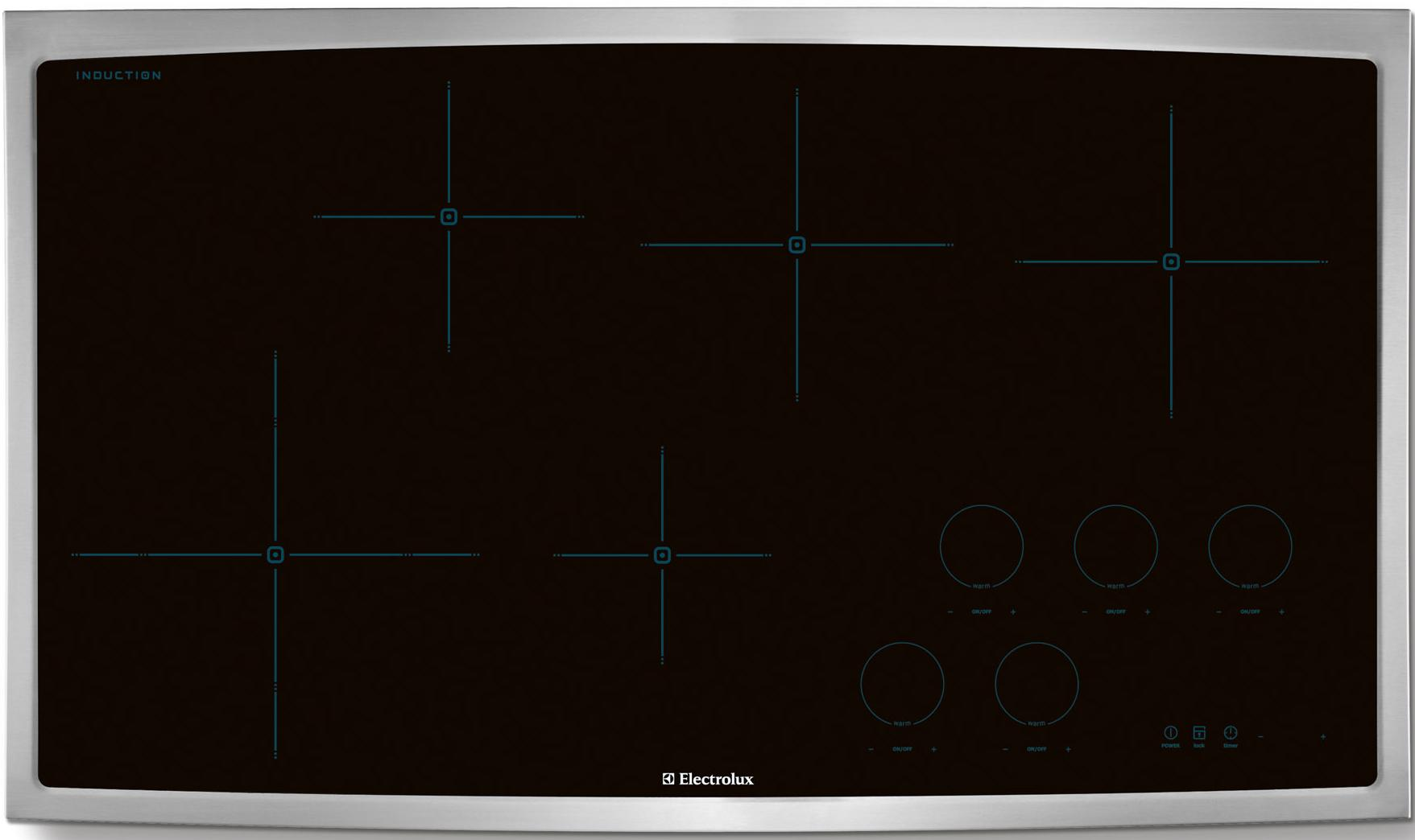 """Electrolux Electric Cooktops 36"""" Drop-In Induction Cooktop - Item Number: EW36IC60LS"""
