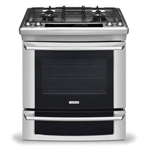 "Electrolux Dual Fuel Ranges 30"" Slide-In Dual-Fuel Range"