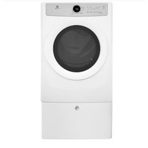Electrolux Electric Dryers 8. Cu Ft Front Load Electric Dryer