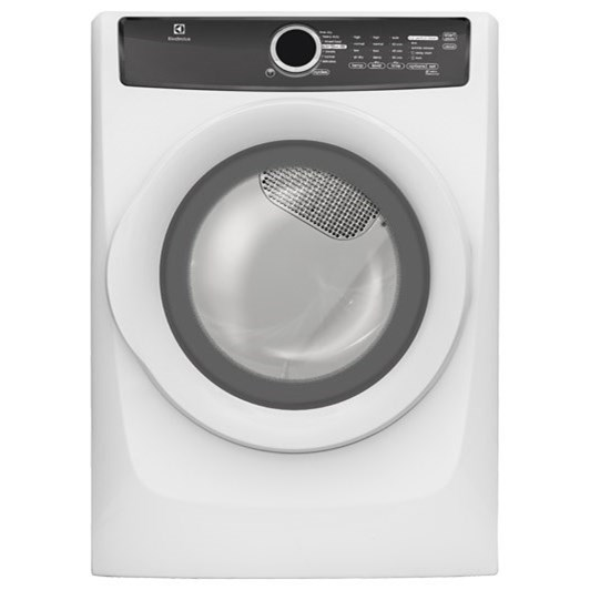 Electrolux Electric Dryers Front Load Perfect Steam™ Electric Dryer - Item Number: EFME417SIW