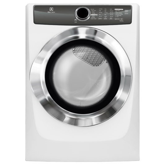 Electrolux Electric Dryers Front Load Perfect Steam™ Electric Dryer - Item Number: EFME517SIW