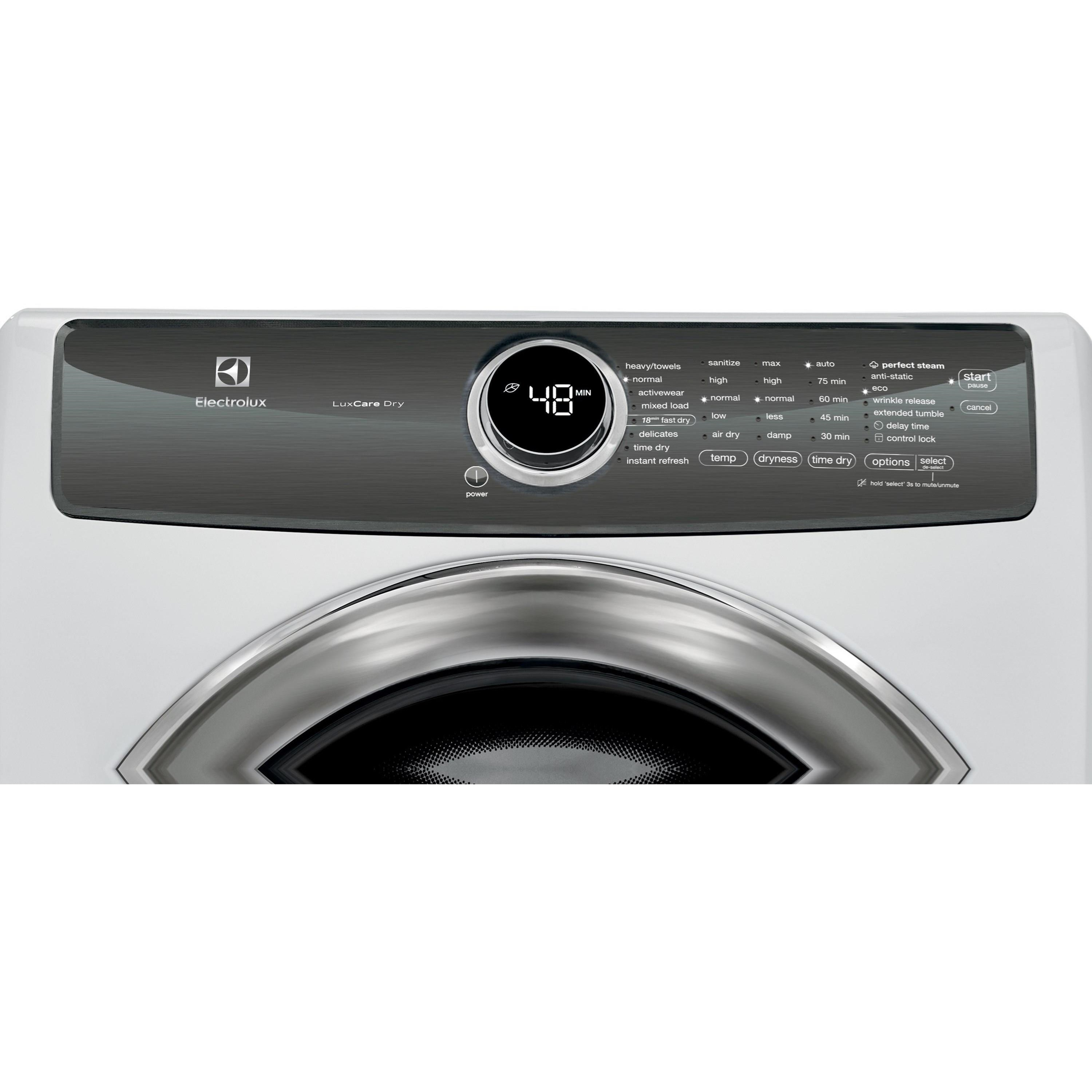 Electrolux Efme527uiwfront Load Perfect Steam Electric