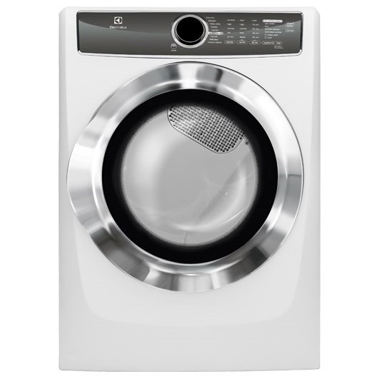 Electrolux Electric Dryers Front Load Perfect Steam™ Electric Dryer - Item Number: EFME617SIW