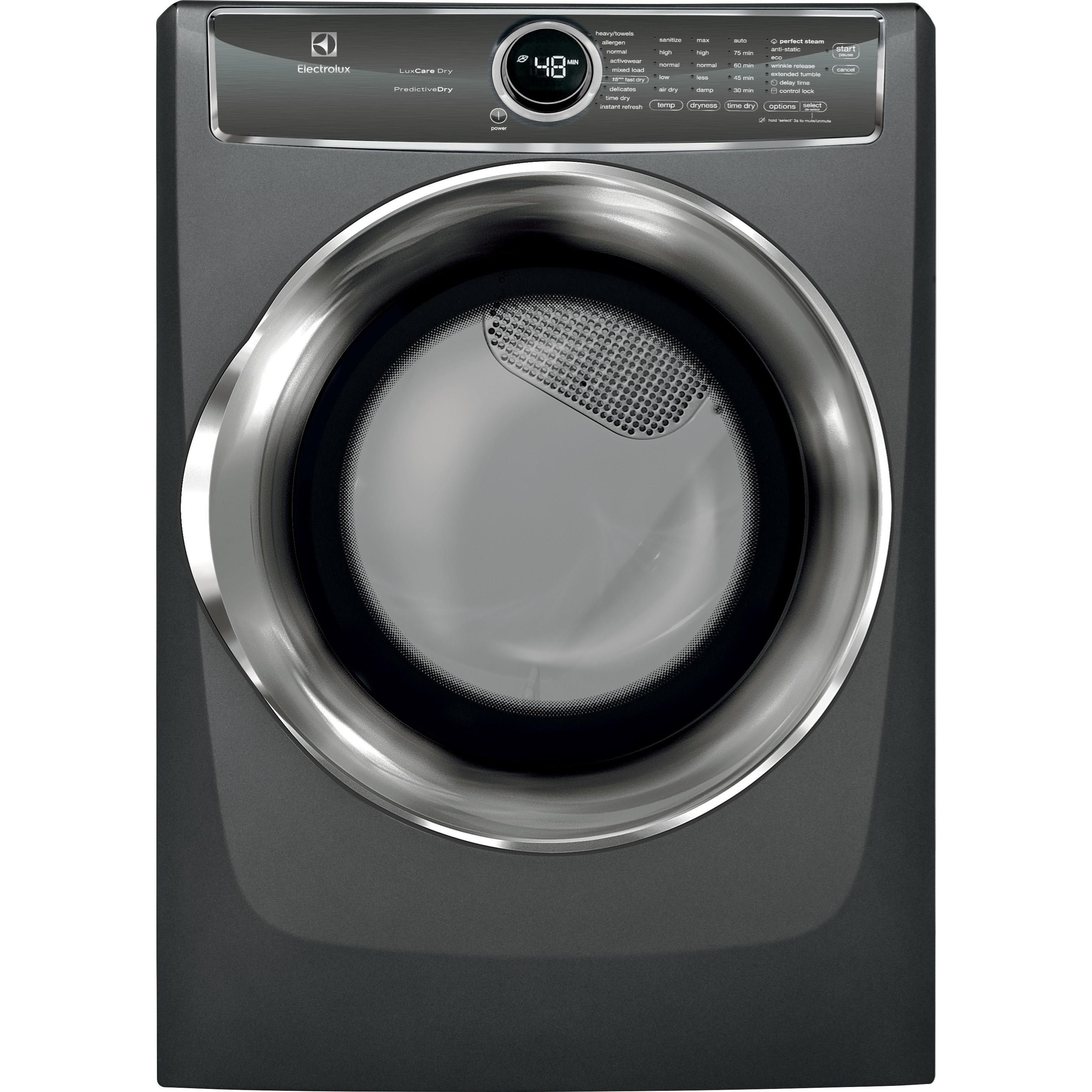 Electrolux Electric Dryers Front Load Perfect Steam? Electric Dryer - Item Number: EFME627UTT