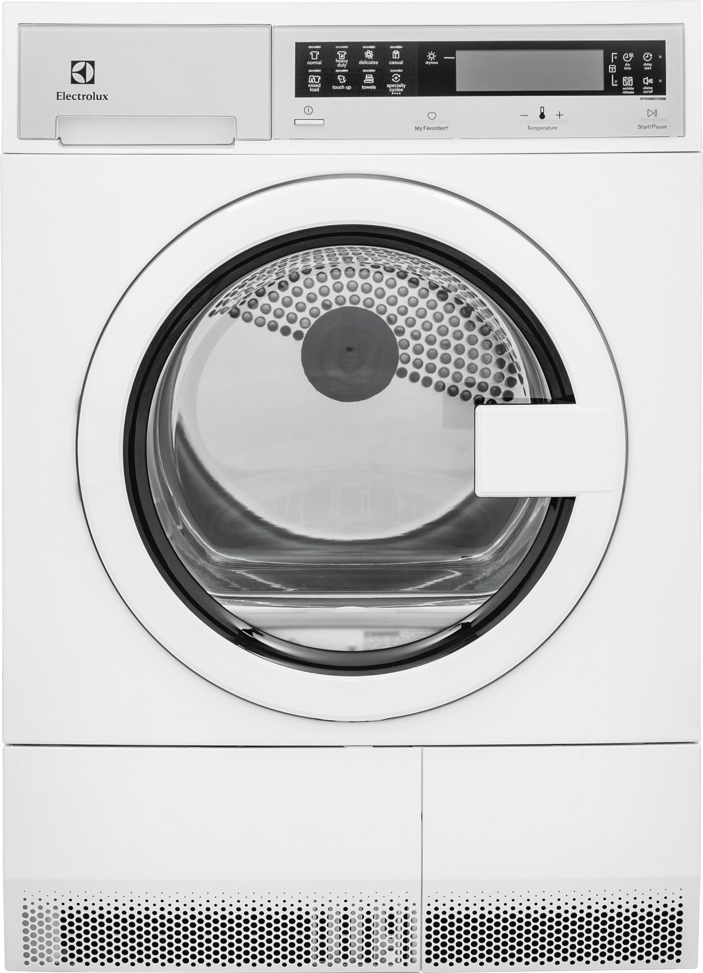 Electrolux Electric Dryers 4.0 Cu.Ft. Front Load Electric Dryer - Item Number: EIED200QSW