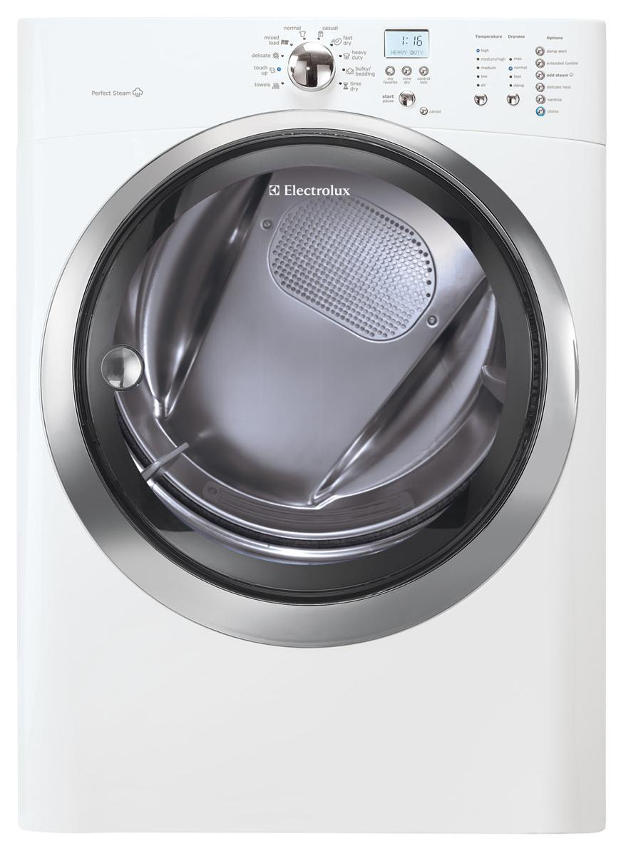 Electrolux Electric Dryers 8.0 Cu. Ft. Front Load Electric Dryer - Item Number: EIMED55IIW
