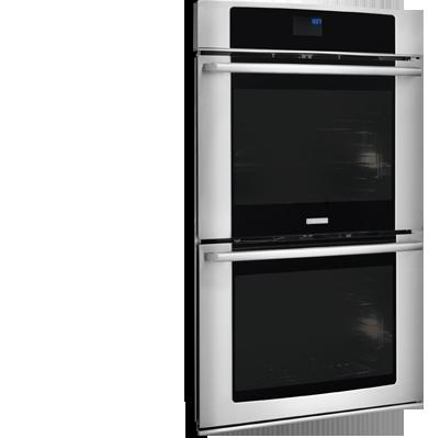 """Electrolux Electric Wall Ovens - 2014 27"""" Electric Double Wall Oven - Item Number: EW27EW65PS"""