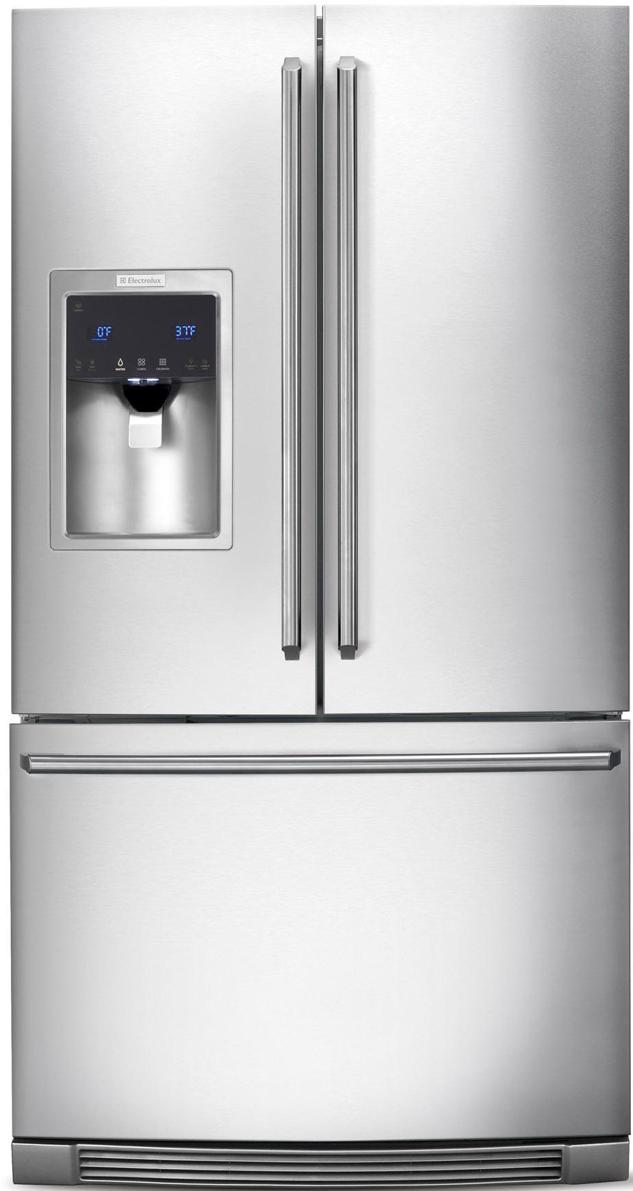 Electrolux French Door Refrigerators 28 Cu. Ft. French Door Refrigerator - Item Number: EW28BS85KS