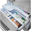 Electrolux French Door Refrigerators ENERGY STAR® 28 Cu. Ft. French Door Refrigerator with Wave-Touch® Controls - Luxury-Glide® Freezer Drawers