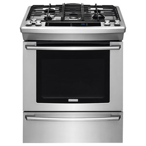 "Electrolux Gas Range 30"" Gas Built-In Range with Wave-Touch® Cont"