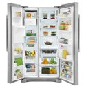 Electrolux Side-By-Side Refrigerators ENERGY STAR® 23 Cu. Ft. Counter-Depth Side-by-Side Refrigerator with IQ-Touch™ Controls - 23 Cu. Ft. Capacity