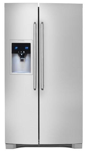 Electrolux Side-By-Side Refrigerators 25.57 Cu. Ft. Side-By-Side Refrigerator wit - Item Number: EW26SS75QS