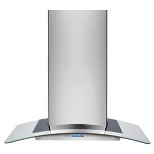 "Electrolux Ventilation Hoods 30"" Designer Glass Canopy Island-Mount Hood"