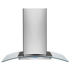 "Electrolux Ventilation Hoods 36"" Designer Glass Canopy Island-Mount Hood"