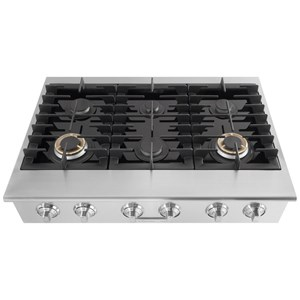 "Electrolux ICON® Gas Cooktops - Electrolux ICON Electrolux ICON® 36"" Gas Slide-In Cooktop"