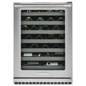 Electrolux ICON® Wine Storage - Electrolux ICON Electrolux ICON® Under-Counter Wine Cooler - Item Number: E24WC50QS