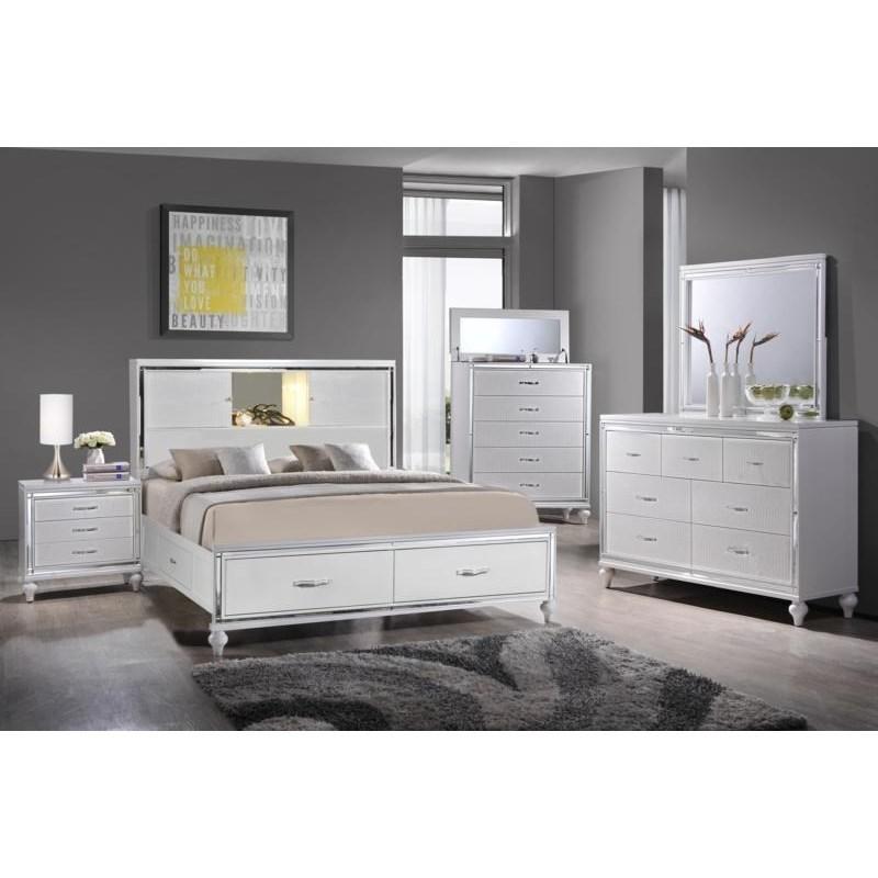 Elements International  Miami Queen Bedroom Group - Item Number: MM100 Q Bedroom Group 2