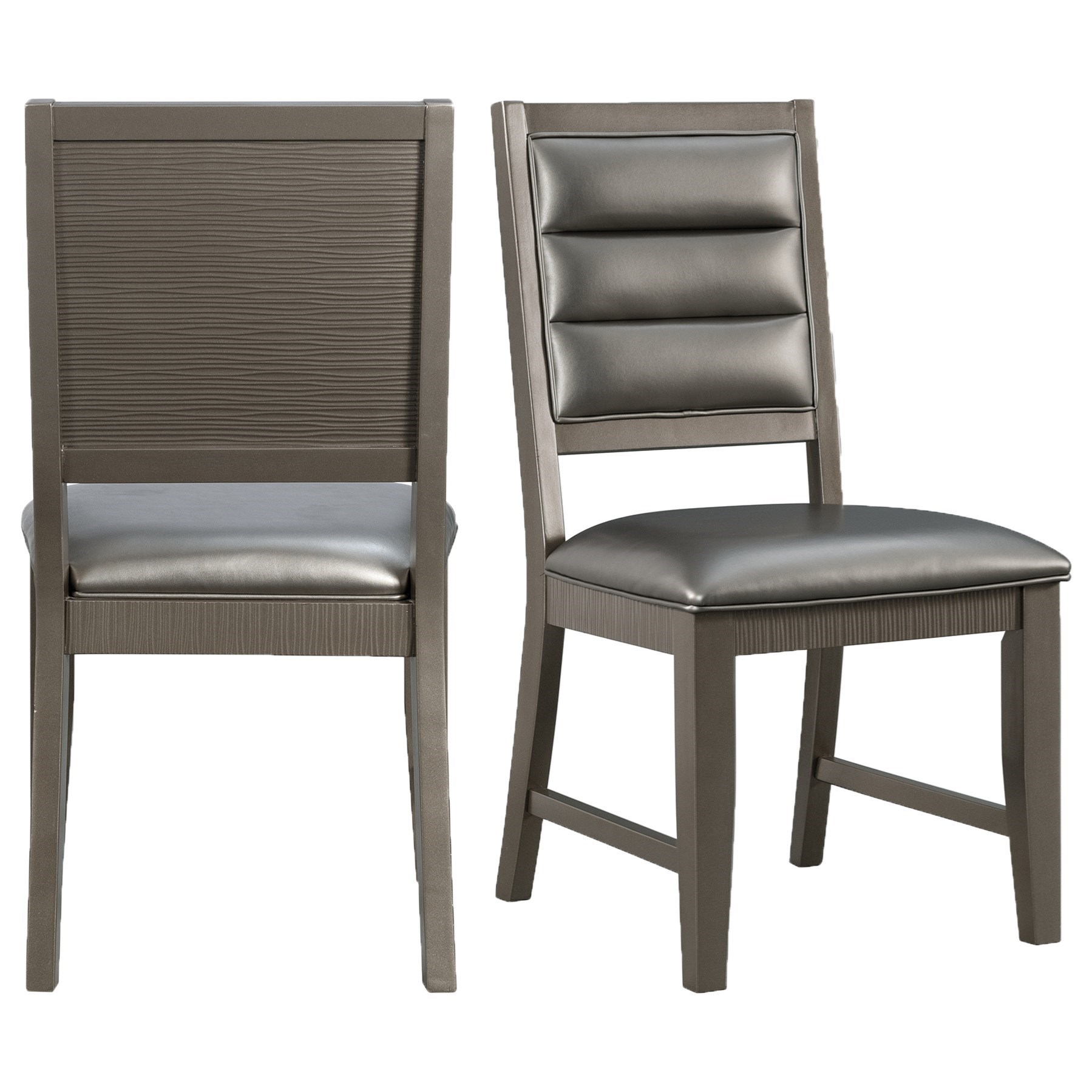 14.5 Standard Height Side Chair by Elements International at Powell's Furniture and Mattress