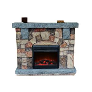 "Elements International Stonecrest Fireplace 52"" Stonecrest Fireplace"