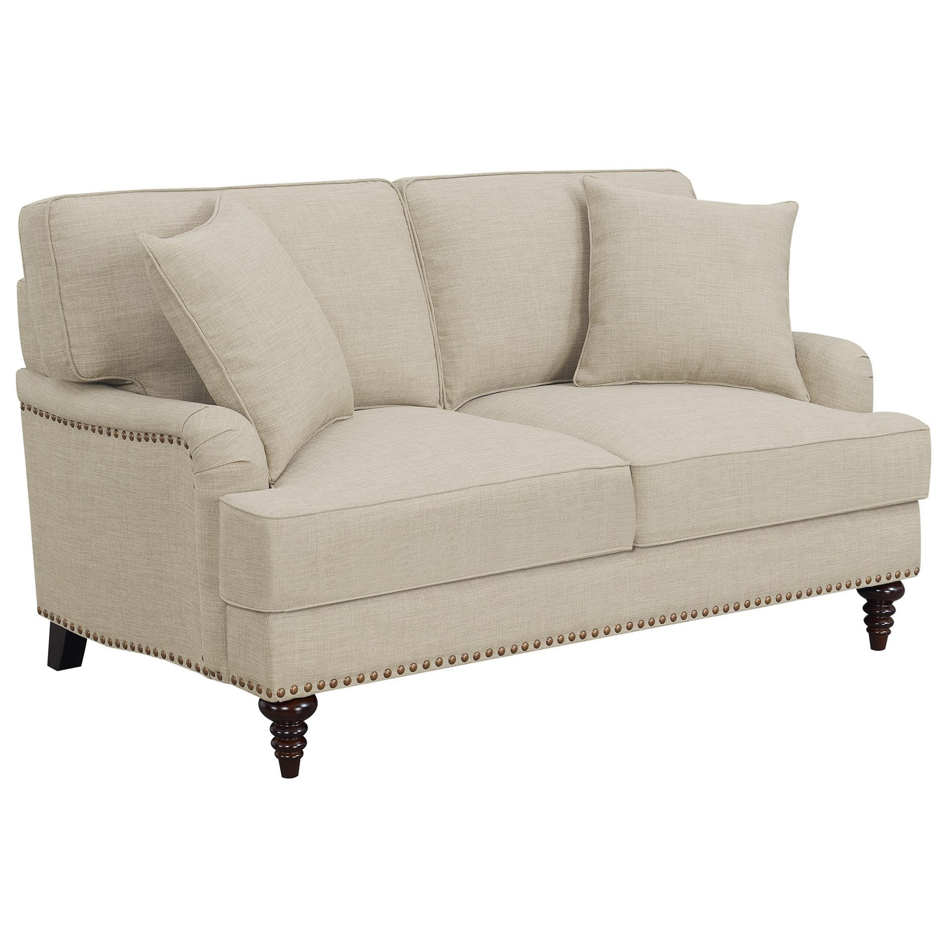 Abby Loveseat w/ Pillows at Dream Home Interiors