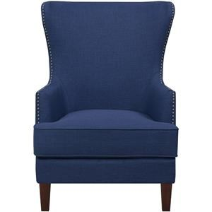 Cody Blue Accent Chair
