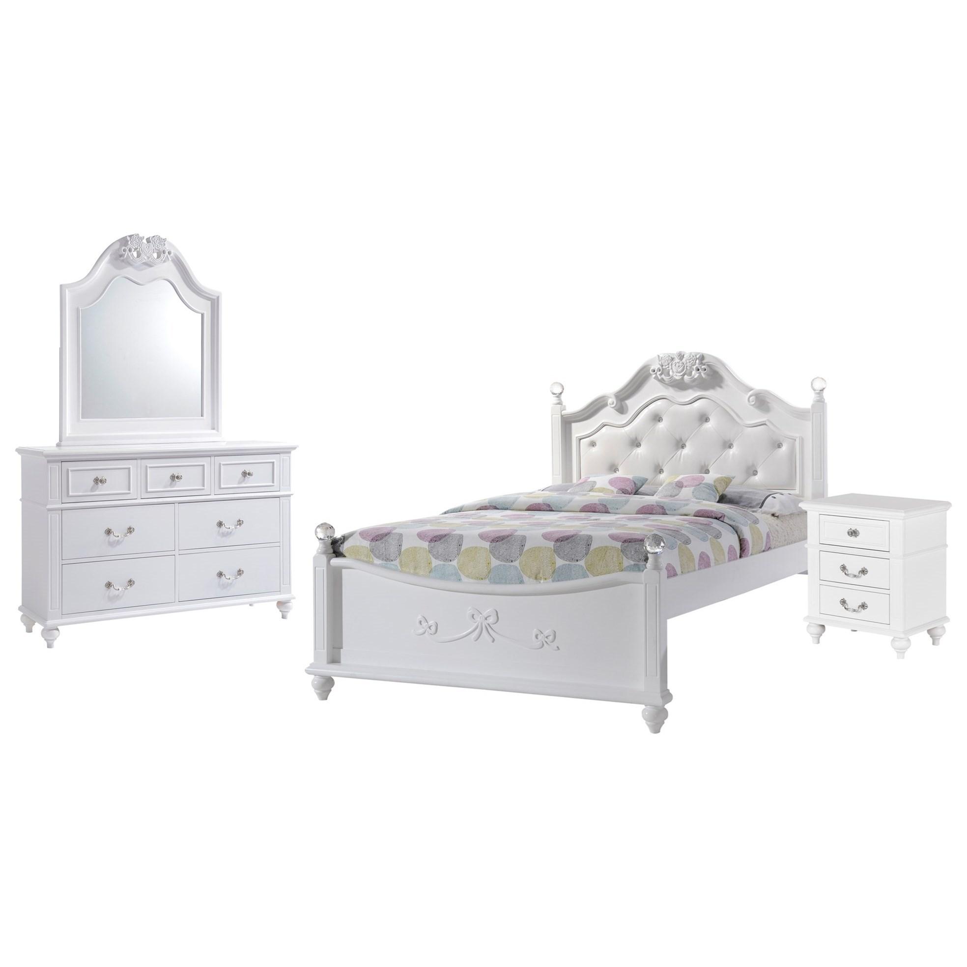Full 4-Piece Bedroom Set