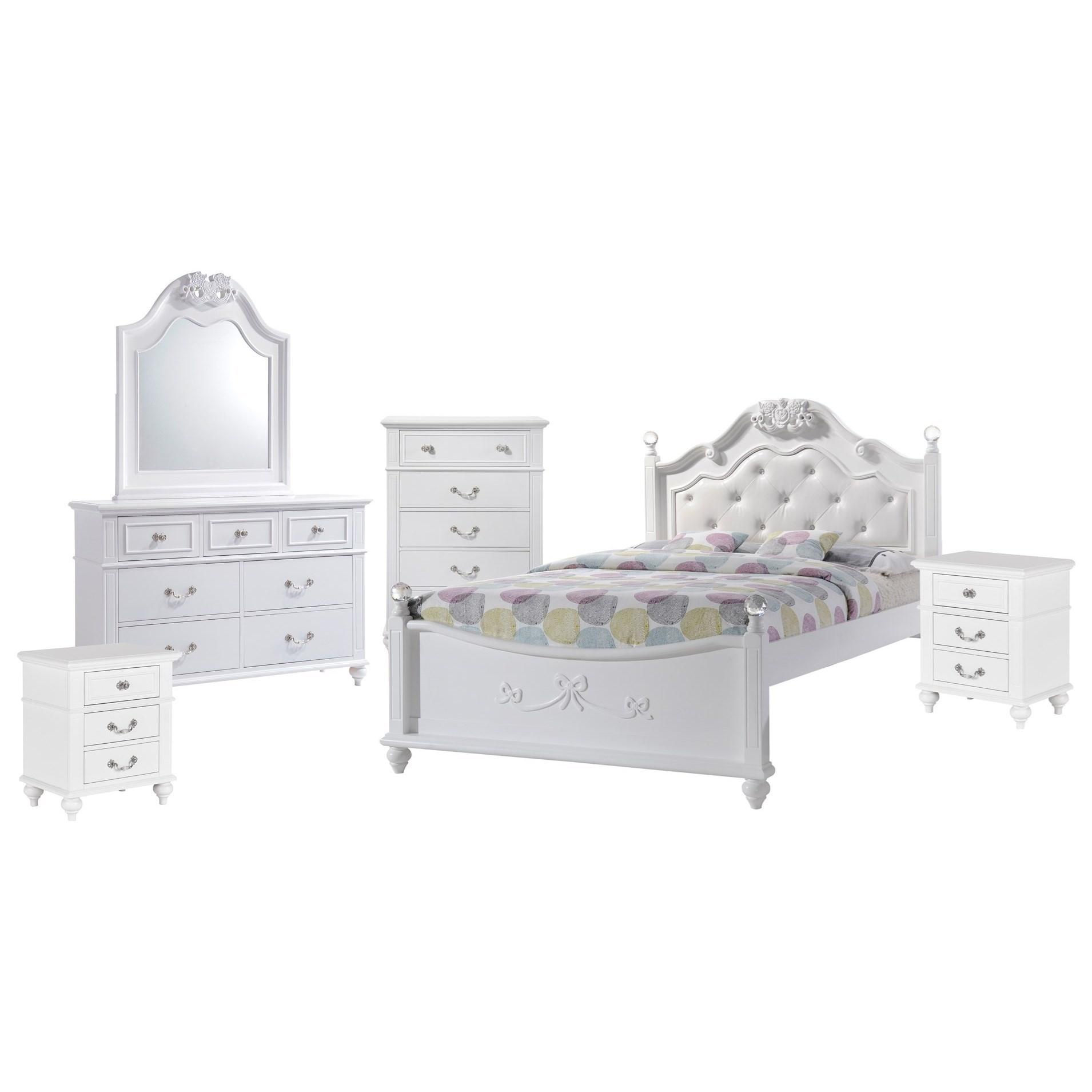 Full 6-Piece Bedroom Set