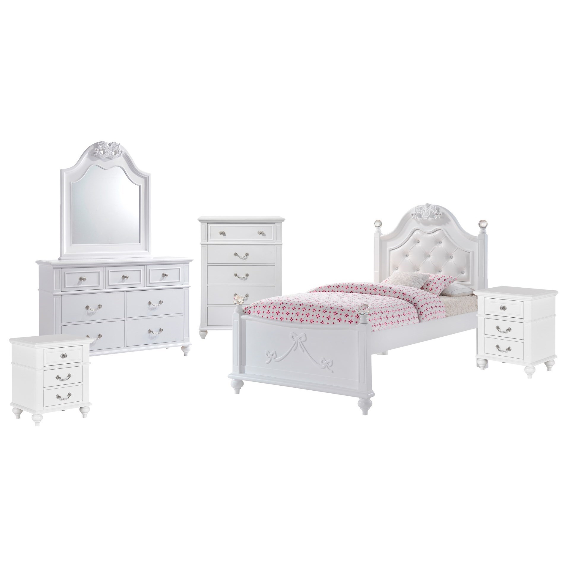 Twin 6-Piece Bedroom Set