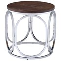 Elements Alexis Round End Table - Item Number: CAX100ETE