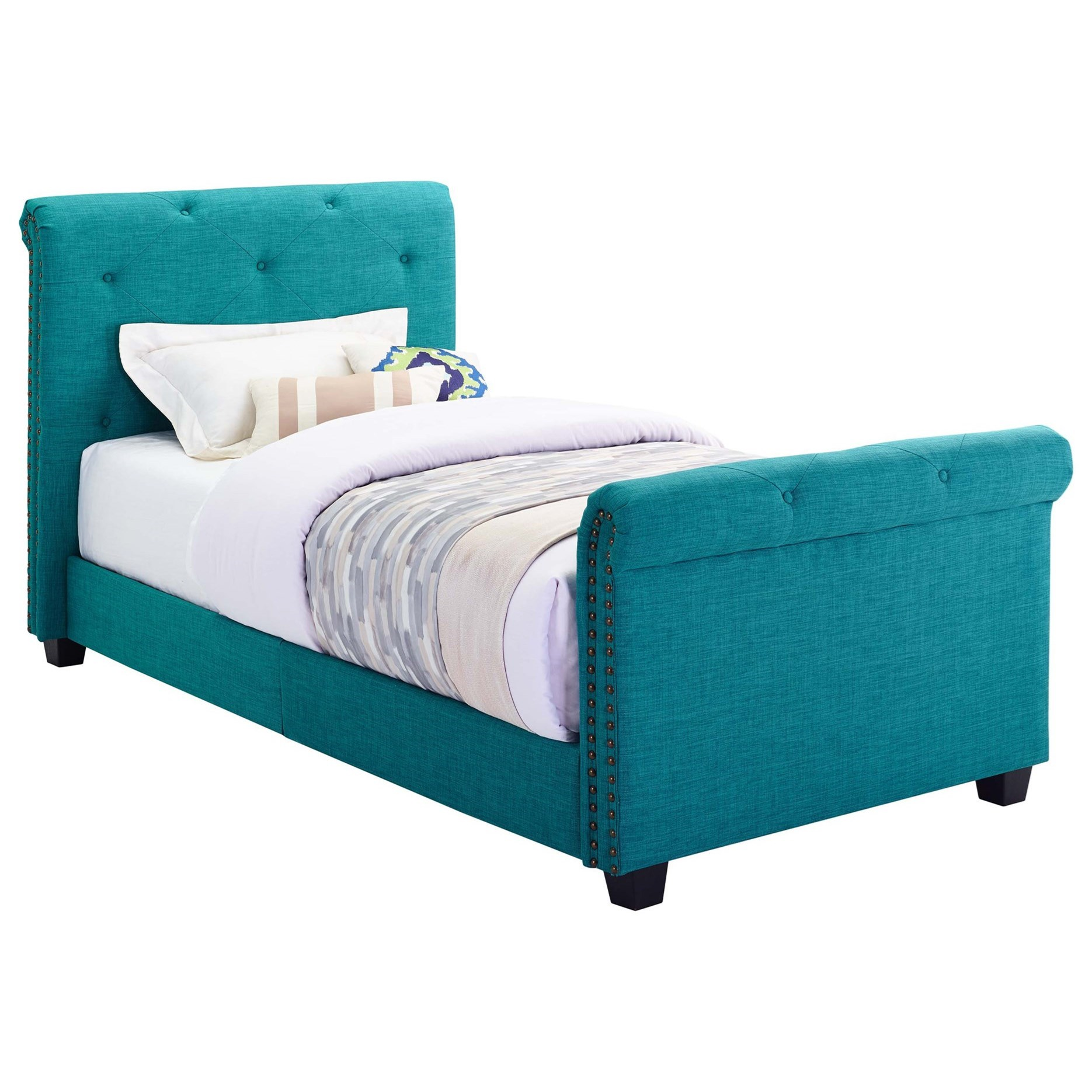 Youth Twin Upholstered Bed