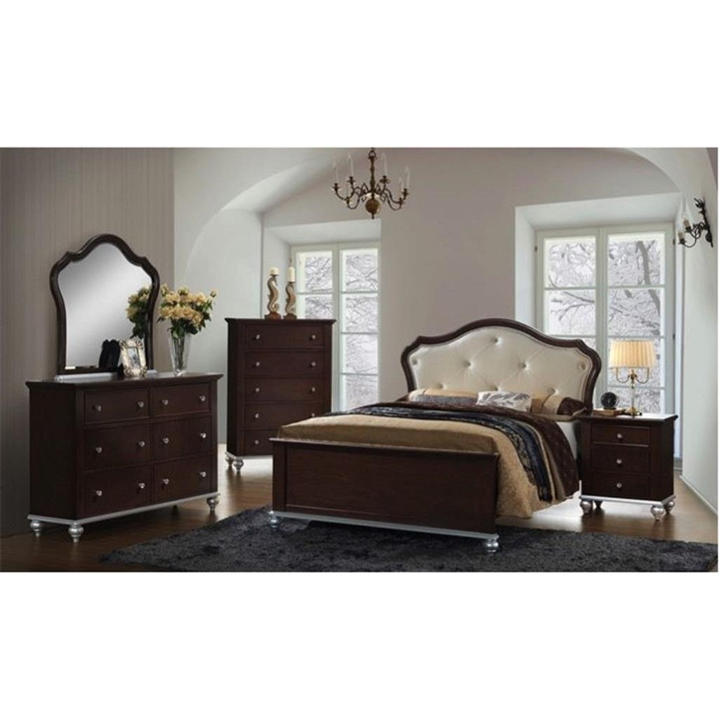 Elements International Allison Full Bedroom Group - Item Number: AL300 F Bedroom Group 1