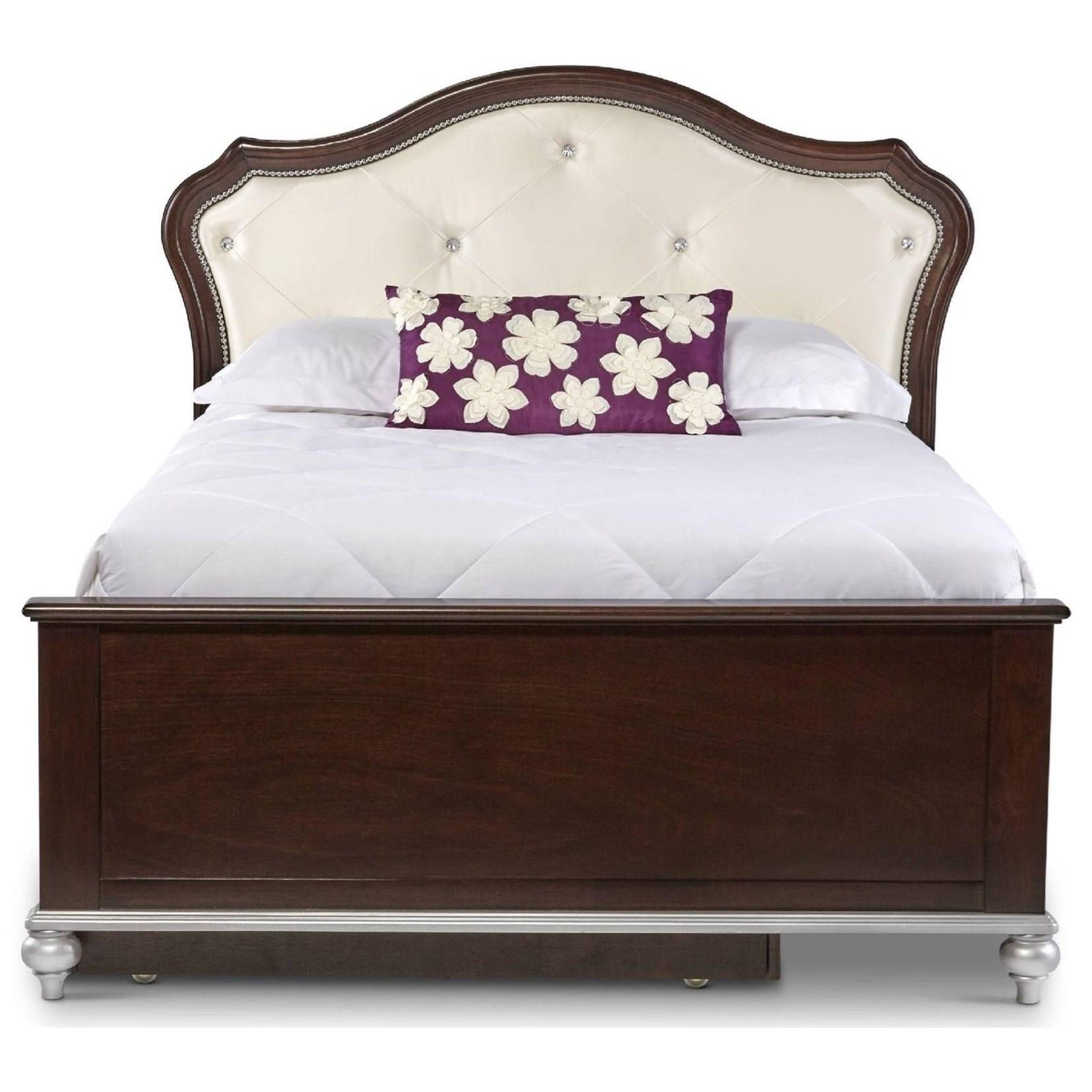 Elements International Allison Full Bed - Item Number: AL300FB