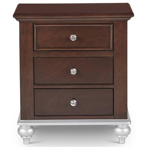 Elements International Allison Nightstand