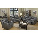 Elements International Alpine Reclining Living Room Group - Item Number: U8388 P Living Room Group-Lividity