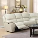 Elements International Alpine Sofa - Item Number: U8388xx305-Cream