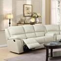 Elements International Alpine Sofa - Item Number: U8388xx305P-Cream