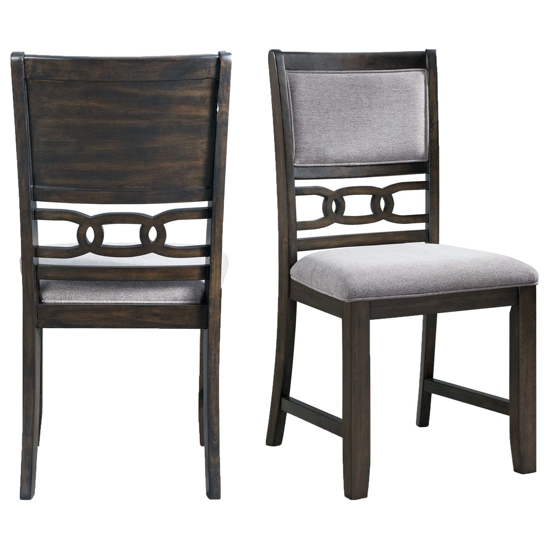 Amherst Standard Height Side Chair by Elements International at Furniture Fair - North Carolina