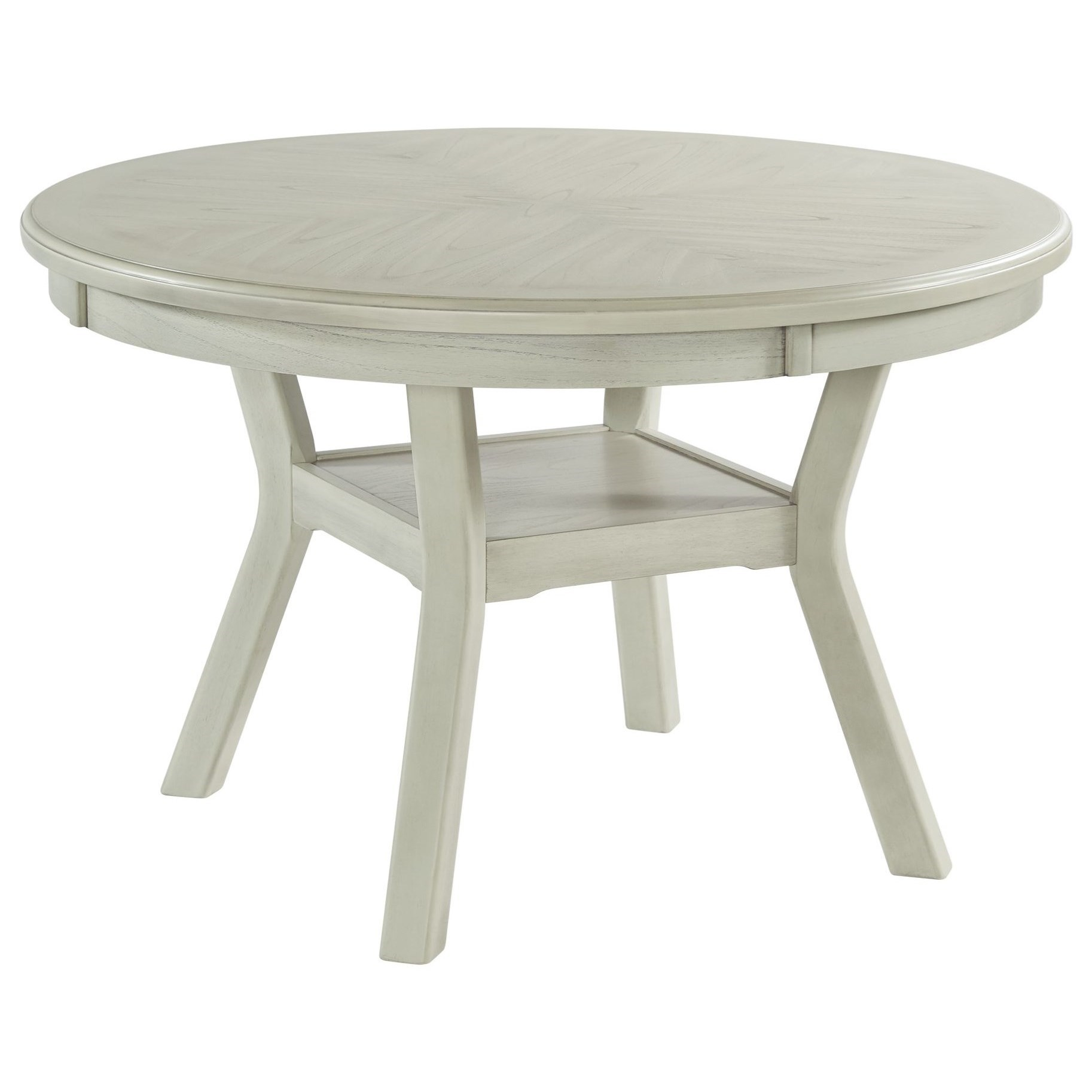 Elements International Amherst Transitional Round Standard Height Dining Table Lindy S Furniture Company Dining Tables
