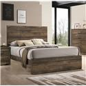 Elements International Bailey Music Full Panel Bed - Item Number: 581350104
