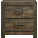 Elements International Bailey Music Nightstand - Item Number: BY500NS