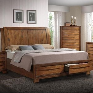 Elements International Brandy Queen Bed