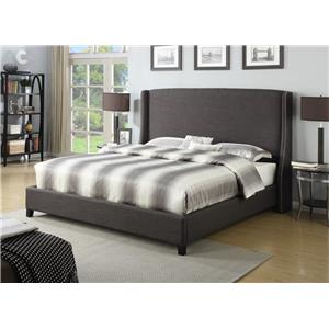 Morris Home Furnishings Branford Brandford King Bed
