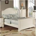 Elements International Brook Youth Full Panel Bed - Item Number: 777-FW+HW+RW