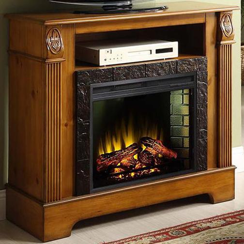 Elements International Bryant Fireplace With Pilaster Details Zak 39 S Fine Furniture Fireplace