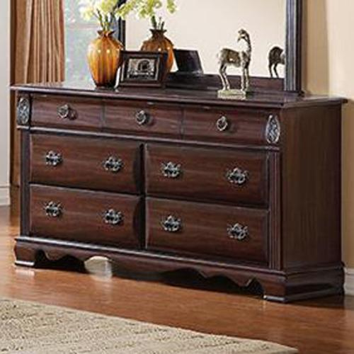 Bryant Dresser With 7 Drawers Dream Home Furniture Dresser