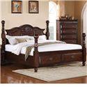 Elements International Bryant King Platform Storage Bed - Item Number: BY333KB